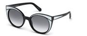 Satın al, veya bu resmi büyüt, Swarovski Eyewear SK0178-01B.
